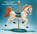 Carousel Horse Woodcraft Pattern