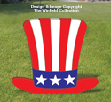 Large Uncle Sam Hat Pattern