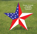 Medium Patriotic Star Pattern