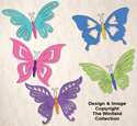 Elegant Butterflies Pattern Set