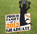 Glad Grad Yard Sign Woodcraft Pattern