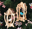 Bird Cage Ornaments Pattern Set