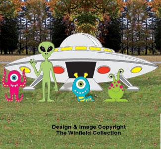 Small Alien Landing Pattern Set