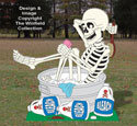 Washtub Skeleton Woodcrafting Pattern
