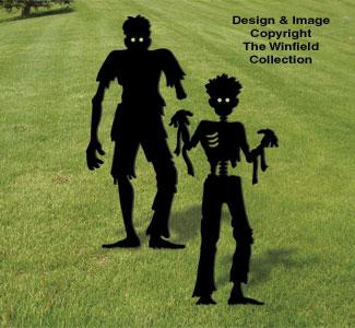 Scary Zombie Combo Pattern Set