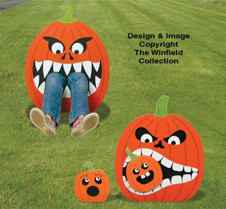 Hungry Pumpkins Combo Pattern Set