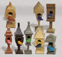 Mini Birdhouse Pattern Set
