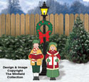 Victorian Caroling Children Pattern
