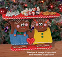Gingerbread Couple Snack Stand Plan