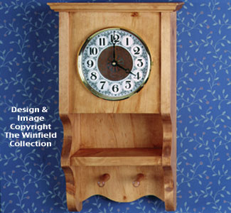 Country Wall Clock Pattern