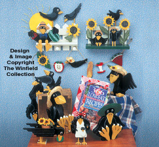 Crow Collection Woodcraft Pattern