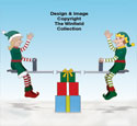 Teetering Elves and Teeter Totter Pattern Set