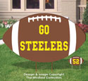 Large Football Sign Pattern