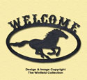 Horse Welcome Sign Woodcraft Pattern