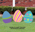 Large Easter Eggs Woodcraft Pattern Set