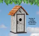 Outhouse Birdhouse Plans
