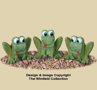 4x4 Frog Trio Pattern