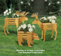 Small Cedar Animal Planter Plans