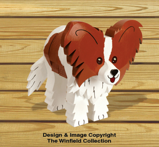 Layered Papillon Woodcraft Pattern