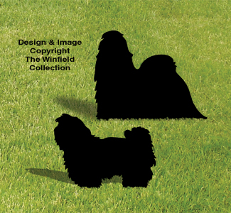 Shih Tzu Shadow Pattern