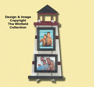 Lighthouse Picture Frame Pattern