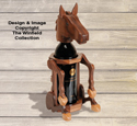 Horse Wine Bottle Holder Pattern