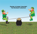 Teetering Leprechaun and Teeter Totter Plan Set