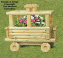 Landscape Timber Caboose Planter Plans