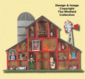 Barn Shadowbox Woodcrafting Pattern
