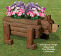 Landscape Timber Bear Planter Plan