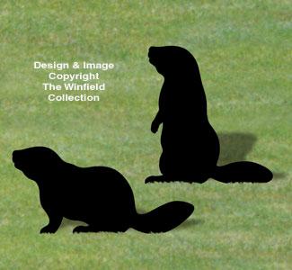 Beaver Shadow Woodcraft Pattern