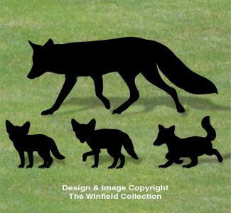 Fox Family Shadow Patterns
