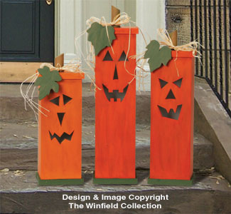 Pumpkin Trio Wood Plans