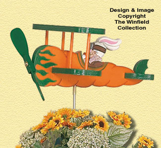 Flying Carrot Whiligig Pattern