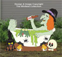 Bathtub Witch Woodcrafting Pattern