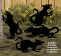 Medium Evil Rats Woodcraft Pattern