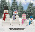 Landscape Timber Snowmen Plans