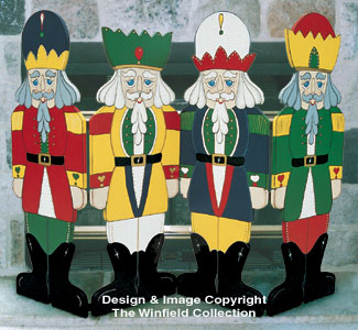 Nutcracker Fireplace Screen Pattern