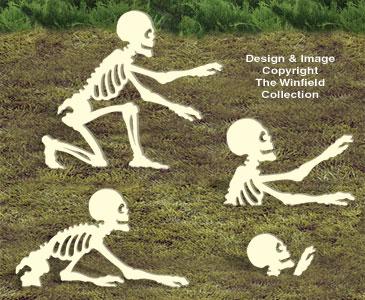 More Rising Skeletons Woodcraft Pattern