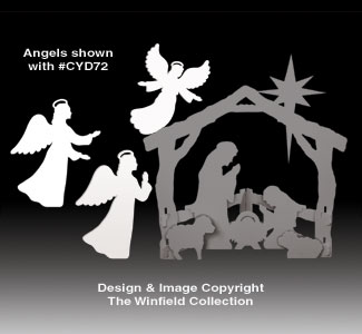 Small Silent Night Angels Pattern