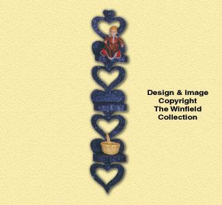 Seven Heart Shelf Pattern