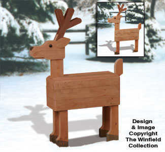 Pallet Wood Deer Plan