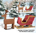 Pallet Wood Sleigh and Deer Plan Set