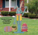 Pallet Wood Easter Bunny 'n Eggs Pattern