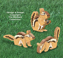 3D Chipmunks Pattern