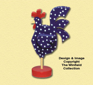 Whimsical Chicken Pattern