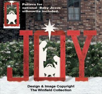 Nativities angels pallet wood yard joy pattern for Wood lawn ornament patterns