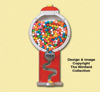 Gumball Machine Woodcraft Pattern