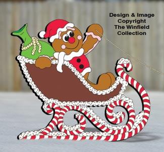 Gingerbread Sleigh Pattern
