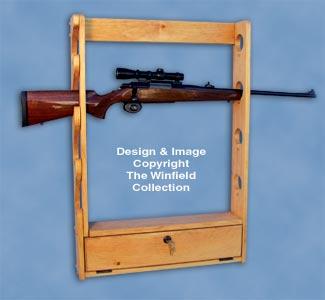 Locking Gun Rack Pattern